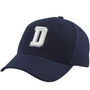 Other - Dallas Cowboys D Flex Hat - Navy Blue